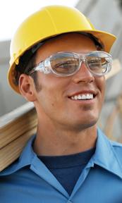 d79c90f849b Live Eyewear s EyeArmor safety glasses fit snugly over prescription glasses.