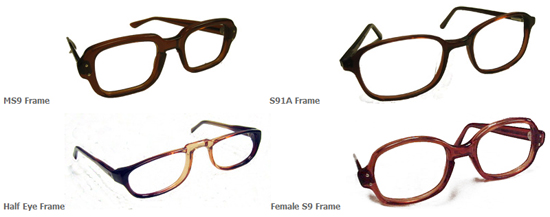 190d8def4e The old standard issue frames which are still available to retirees.