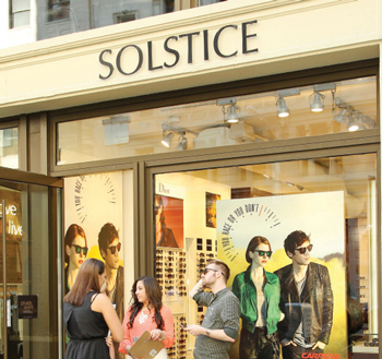 Sunglasses Solstice  vm safilo usa and solstice sunglasses chase the sun at annual