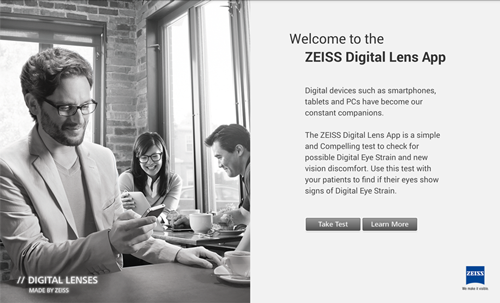 Digital Eye Strain App for ECPs by Zeiss 03922bedf5