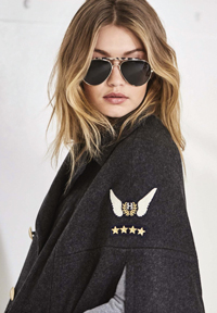 4dcc30d55657 AMSTERDAM—Tommy Hilfiger and model Gigi Hadid collaborated on a special  edition sunglass launch as a part of the TommyXGigi collaborative collection  which ...