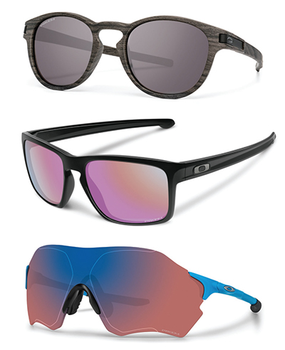 70d2e6f418 Oakley Prizm lens technology is available in a wide variety of colors and  frame styles. Pictured here