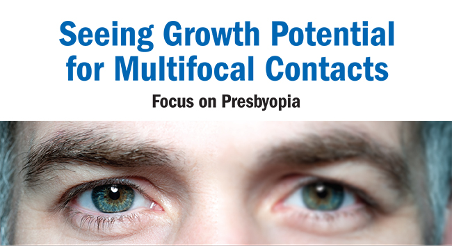 seeing growth potential for multifocal contacts