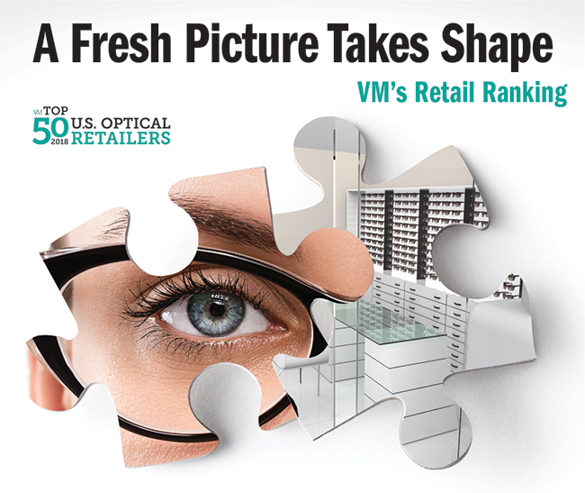 Snapshots of Optical's 10 Largest U S  Retail Players
