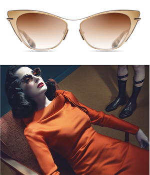 """077a507da0 LOS ANGELES—Dita Eyewear has announced a collaboration with the iconic  """"Queen of Burlesque"""