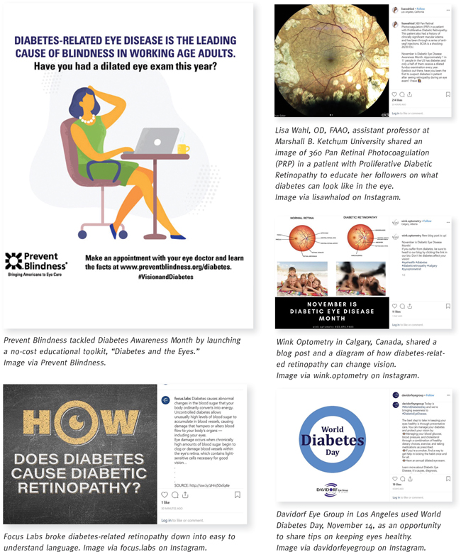 Optical Steps Up For Diabetes Awareness Month